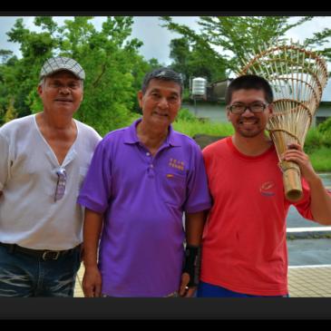 小林村的漁笱怎能不經過楠梓仙溪的洗禮!我用身體一點一滴紀錄大武壠族的生活美學