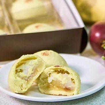 中秋賞月配小林村百福餅,讓香濃天然百香果甜蜜您的團圓!