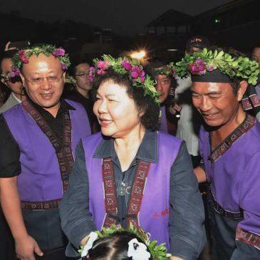 小林夜祭重現傳統,陳菊盼傳承發揚大武壠族文化